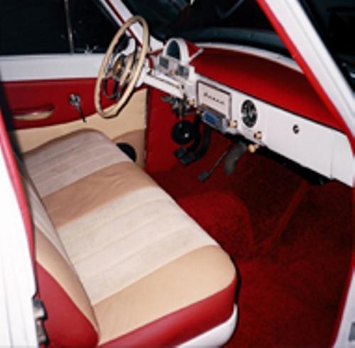 Обновленный ретро автомобиль